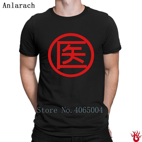 Maglietta da uomo Kanji Maglietta da uomo Formale girocollo Hiphop Manica corta Maglietta da uomo Primavera Autunno Divertente Regalo casual Design unisex