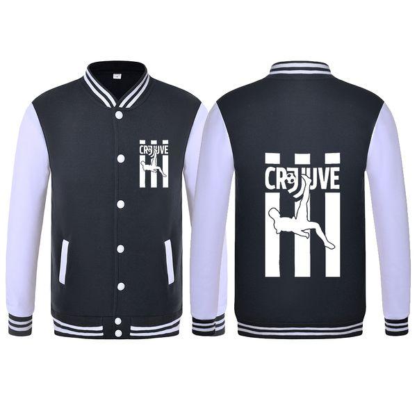 cheap for discount 7059e c69f0 2018 Cr7 Juve Cristiano Ronaldo Hoodies Baseball Costume Jacket Cr7 Juve  Jersey Welcome Baseball Coat Sweatshirts From Pinafore, $25.84 | Dhgate.Com