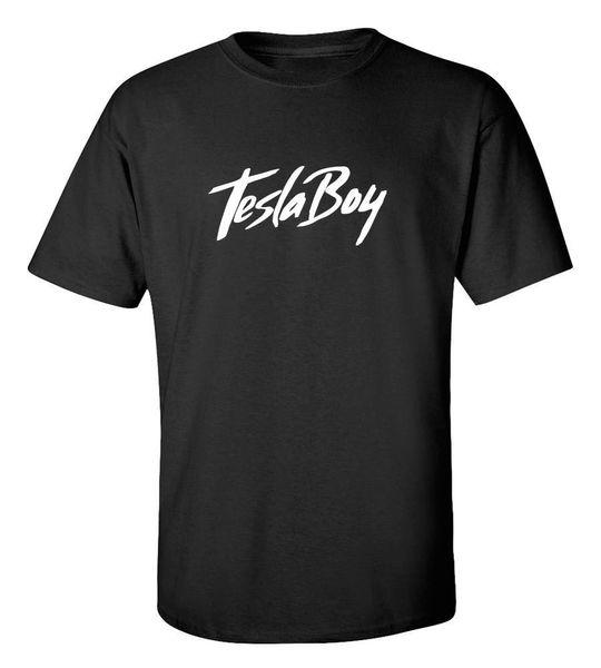 Tesla Boy Modelo 3 Camiseta Camiseta Gráfica Tamaño S a través de 2Xl Envío gratis Camiseta Hombre Moda Hombre Manga Corta Día de Acción de Gracias Personalizado Más Tamaño