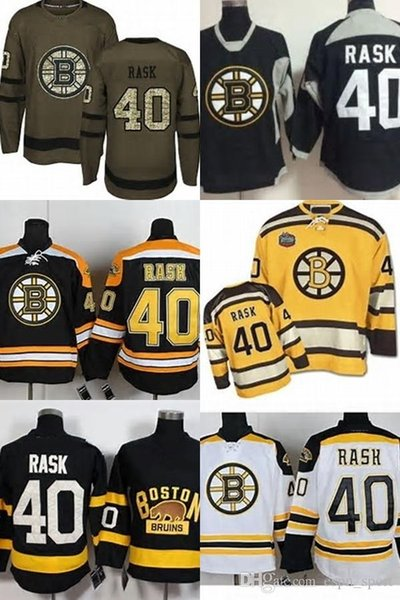 the best attitude 2559f 063db 2019 Hot Sale Cheap Mens Boston Bruins 40 Tuukka Rask 100% Embroidery Logo  Ice Hockey Jerseys Size S 3XL Accept Retail And From Espn_sport, $25.99 |  ...