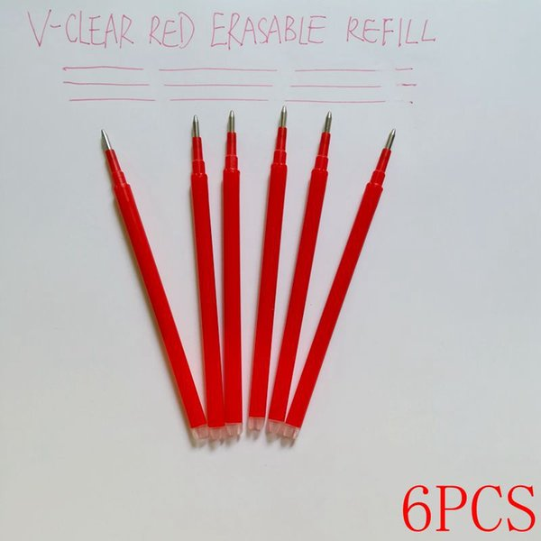 6 pcs Red