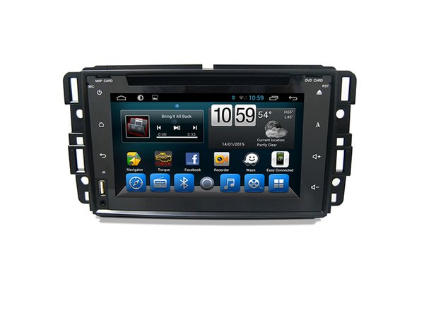 Für GMC Buick Chevrolet 2009-2din Android Auto dvd PC Multimedia-System Dashboard GPS-System Auto Radio Bluetooth Automobil GPS-Navigation