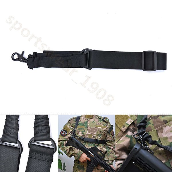 """Tactical Adjustable 52/"""" Single Point Bungee Sling Heavy Duty Nylon for Rifle Gun"""