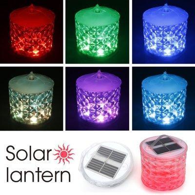 Lumière colorée cube