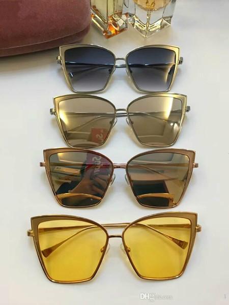 Tasarımcı erkekler kadınlar için güneş gözlüğü lüks güneş gözlüğü erkekler için güneş gözlükleri kadın erkek marka tasarımcısı gözlük erkek güneş gözlüğü óculos de SMU56Q
