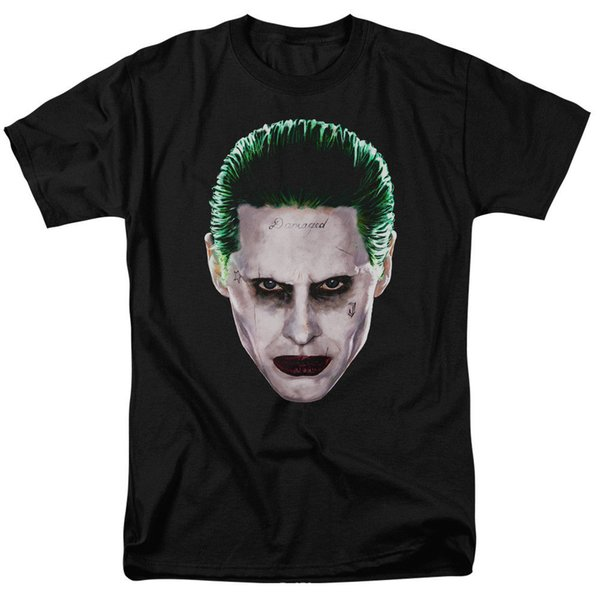 Suicide Squad Joker Head T-shirts & Tanks for Men Women or Kids Cotton T-Shirt Fashion Free Shipping