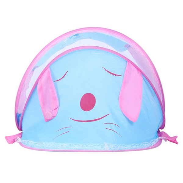 High Quality Puppy Portable Folding Baby Mosquito Nets Ship Type Babies Cradle Bed Infant Sleeping Cribs