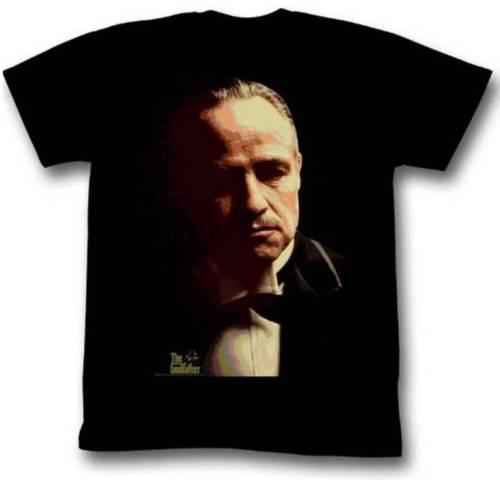 Detaylar zu Godfather Sıçramak Yetişkin Siyah t-shirt tee Unisex Komik ücretsiz kargo hediye Rahat tee