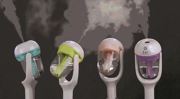 Vehicle humidifier, foreign trade export vehicle, aromatherapy humidifier, mini air purifier.