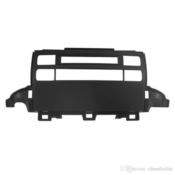 LEEWA Car Frame Panel Fascia For Toyota Prado 120 J120 Radio DVD Stereo Panel Dash Mounting Installation Trim Kit Face Frame #3636