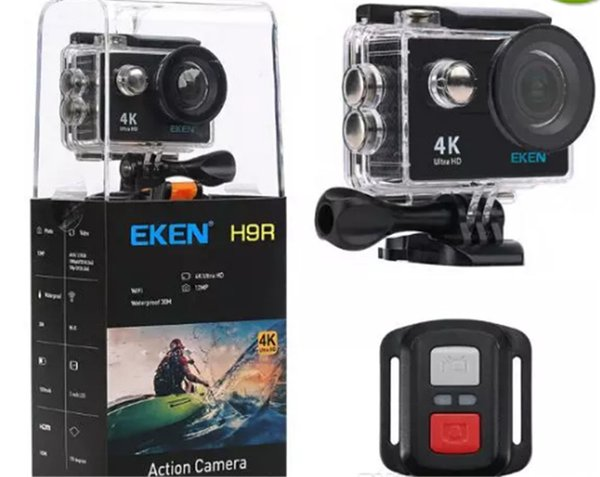 Original EKEN H9 H9R with remote control Ultra HD 4K WiFi HDMI 1080P 2.0 LCD 170D pro Sports camera waterproof