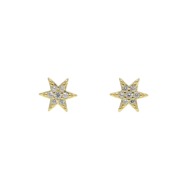 best selling tiny smal sunburst stud earring pure 925 sterling silver minimal jewelry dainty delicate pave cz tiny star multi piercing earring