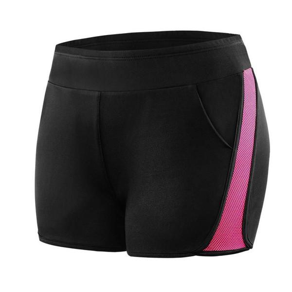 Feminino Cor Sólida Solto Mid Elastic Cintura Sexy Shorts Novas Mulheres Calções Quentes de Verão Magro Praia Casual Egde