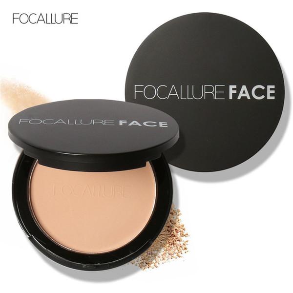 FOCALLURE Make Up Face Powder Bronzer Highlighter Shimmer Brighten Face  Pressed Powder Palette Contour Makeup Cosmetics FA16 Makeup Reviews Makeup