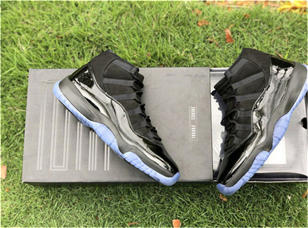 de521d4bce71 2018 Release Cap And Gown 11 Prom Night Blackout 11S Basketball Shoes  Sneakers For Men Authentic