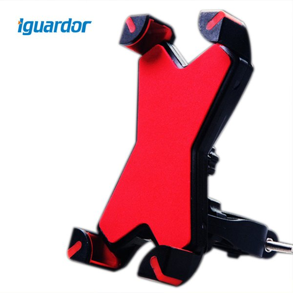 Iguardor 360 Degree Universal Bicycle Bike Motorcycle Bracket Mobile Phone Holder Cycling Accessories