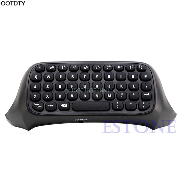High Quality Details about USB 2.4G Wireless Messenger Game Controller Keyboard Keypad Chat Pad For Xbox One B/W #L059# new hot