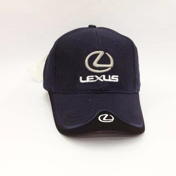 Black Blue Red White Headgear For LEXUS Car Profession Baseball Cap F1 Racing Cup adjustable Leisure Logo Hat casquette cap men