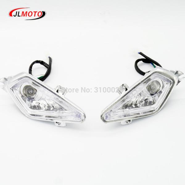 1Pair/2pcs Front Light of Jinling Actionbikes Nirtro 50cc 70cc 110cc 125cc Kids Mini ATV Quad Bike JLA-07-06 S-12 S-14 Parts