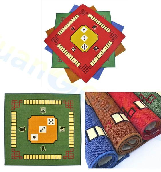 Household multifunctional mahjong mat thickening poker mahjong carpet tablecloths high quality chess mahjong table game mat