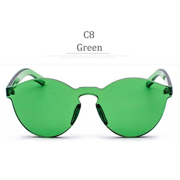 Lente verde C8