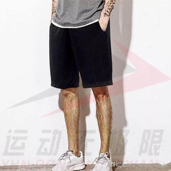 Мужские шорты Летние 2018 пляжные шорты Мода Карманные спортивные  повседневные короткие брюки Высокое качество хлопок Шорты 8953e4788d5