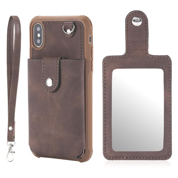 Brown with mirror