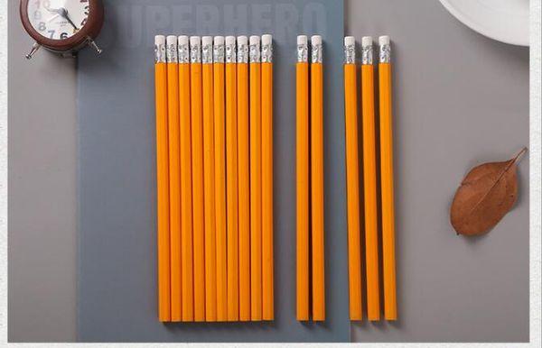 Date d'arrivée Plus haute qualité Prix bas Fabricant livraison gratuite directe jaune 19cm 300pcs / lot crayon PC007