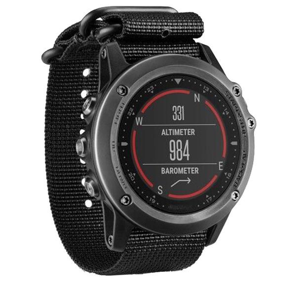 26mm Nylon Strap 5 Ring Watch Replacement Band For Garmin Fenix 3 Watch Splendid New Luxury Wrist Watches Bracelet Correa Reloj