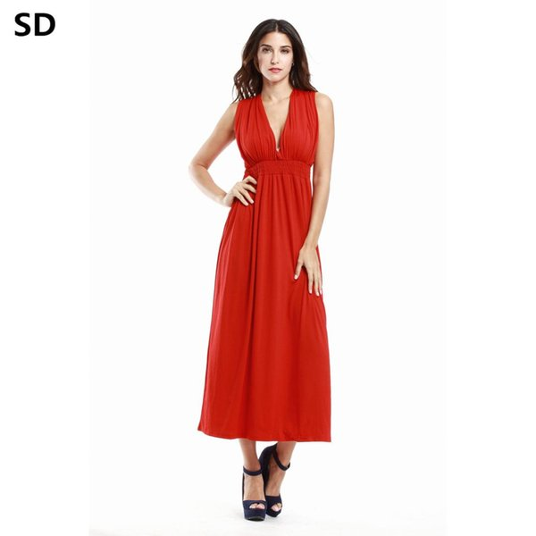 63accb9cb1a SD female maxi dress 2018 High Quality plus size african dresses for women  Hot Summer Fit and Flare Ladies Elegant Vestidos W75