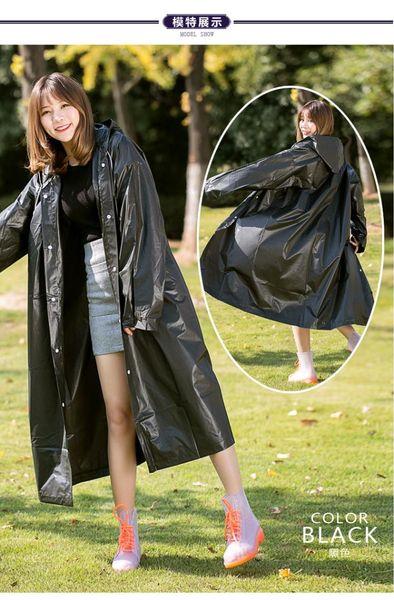 top popular Rain Gear Raincoats Travel outdoor fashion adult non-disposable eva thick raincoat rain poncho men dropship JUL11 2019