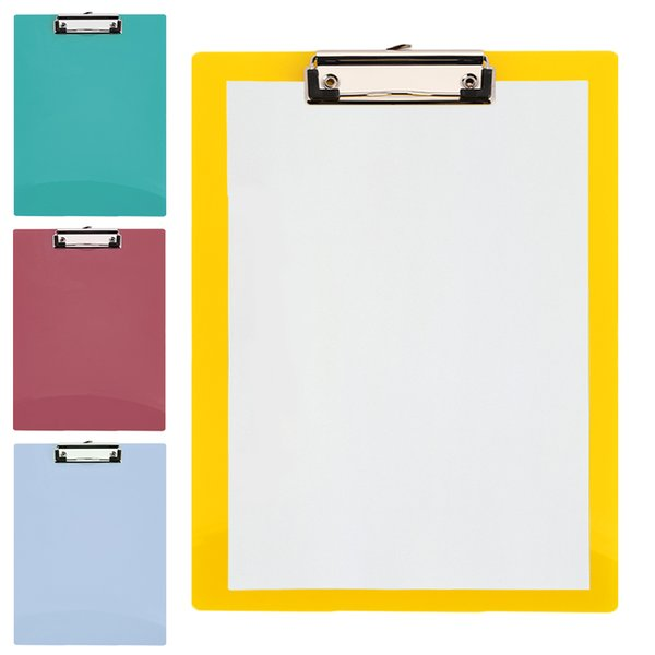 A4 Placa De Escrita Almofada De Papel Clipe Placa de Escritório Prancheta Prancheta Conveniente Papel Da Prancheta Placa de Papel Mat