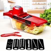 10pcs/set Creative Nicer Slicer Vegetable Cutter Manual Slicer Potato Peeler