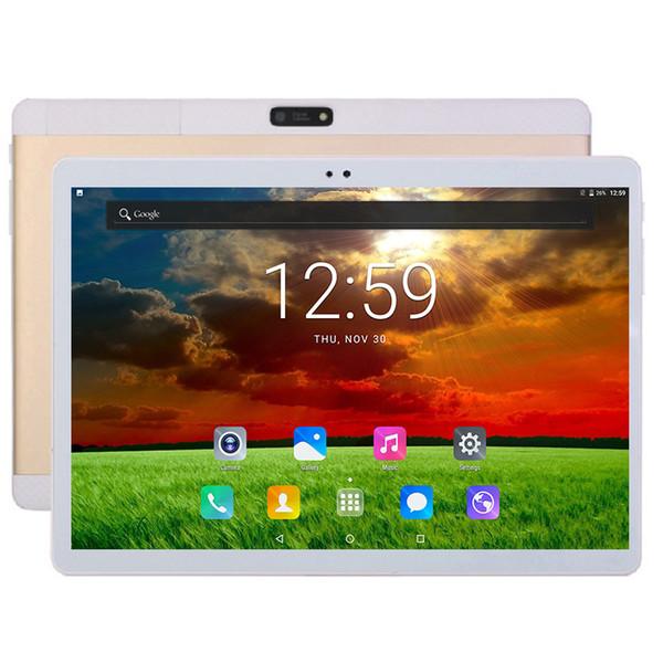 DHL gratuit 10 pouces tablette PC 3G 4G LTE FDD MTK6797 Deca Core 4 Go de RAM 128 Go ROM double carte SIM 10 Cœurs Android 7.0 Tablet PC 10.1