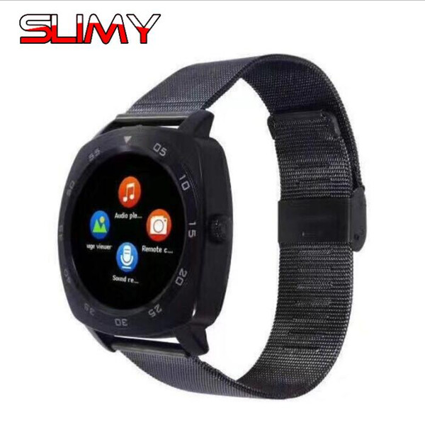 Slimy X3 Passometer Smart Watch with Touch Screen Camera Support SIM TF Card Bluetooth Smartwatch for Android IOS Phone