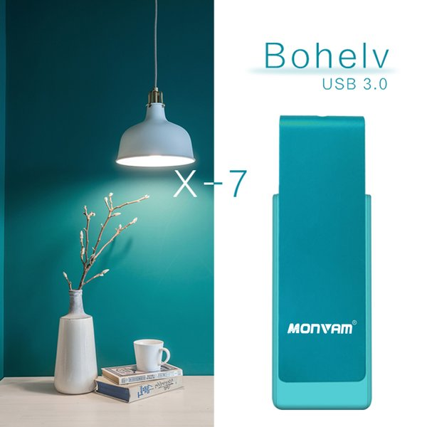 Bleu Rotation 64 Go USB 3.0 Lecteurs Flash Flash Drive Pen Pouce De Stockage Assez Bâton De Capacité pour MAC OS Pour Monvam X7