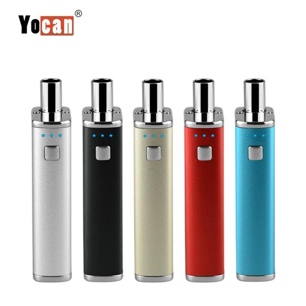 100% Original Yocan Hive 2 in 1 Kit E Cigarette Vaporizer Kits With 2 Atomizers For Wax & 650mAh Box Mod by DHL free