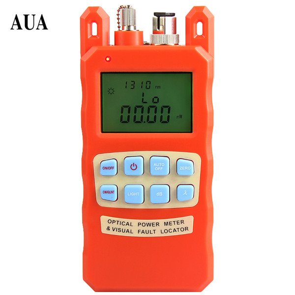2-IN-1 FTTH Fiber Optical Power Meter -70 To +10dbm And 1-5km Fiber Optic Cable Tester Visual Fault Locator