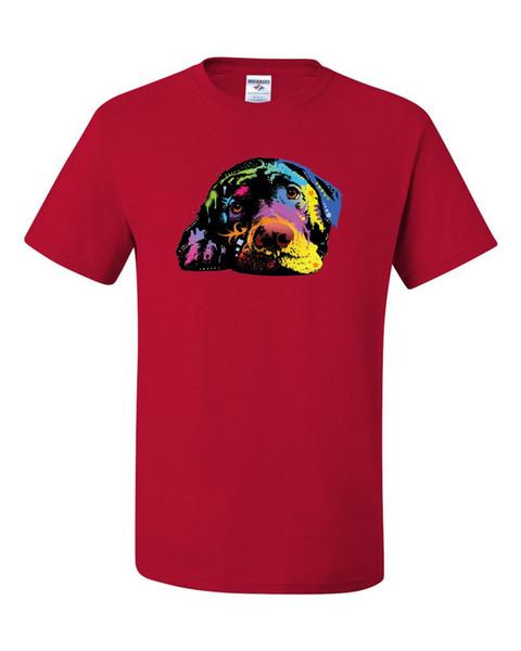 Lying Labrador Retriever Youth T-Shirt Dean Russo Neon Lab Pet Lovers Kids Tee