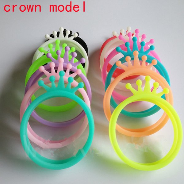 New Universal Soft Cell Phone Bumper Case Bracelet Shape Fluorescent Protective Silicone Bracelet Ring Phone Cover
