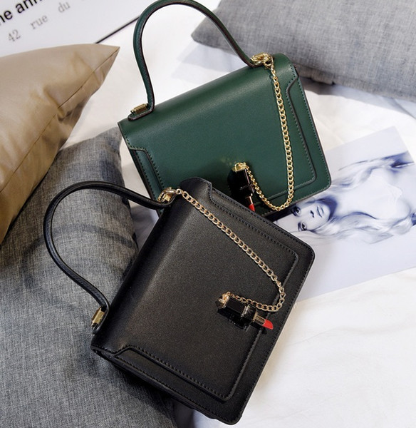 Vintage Casual PU Leather Handbags High Quality Ladies Lipstick Clutch Bag Women Messenger Shoulder Crossbody Bags Bolsos 154
