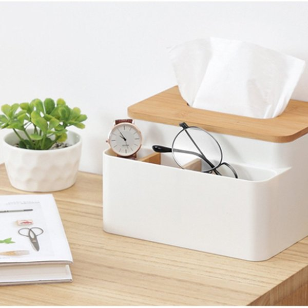 Contenitore multifunzionale semplice scatola di immagazzinaggio di griglia della piccola casella del tessuto del salotto del salotto del caffè del salotto