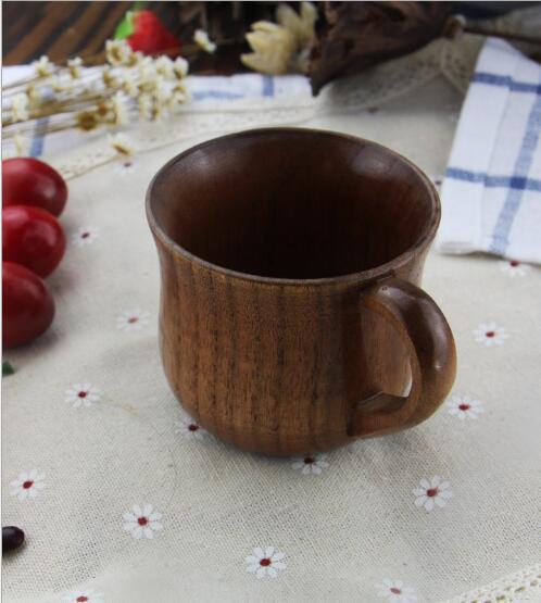 Zizyphus Jujube Copa de Madera Boutique Retro Hecho A Mano Taza De Madera Coreana Restaurante Té Tazas de Café El Mejor Regalo Bebida Bebida bebida lin4222