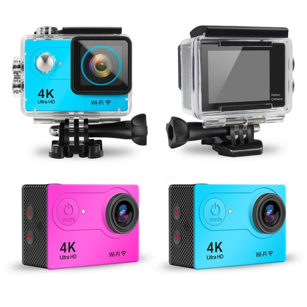 4K Action Camera Wifi H9 Ultra HD Waterproof 1080P 2.0 LCD pro Outdoor Sport DV Mini Cameras go cam