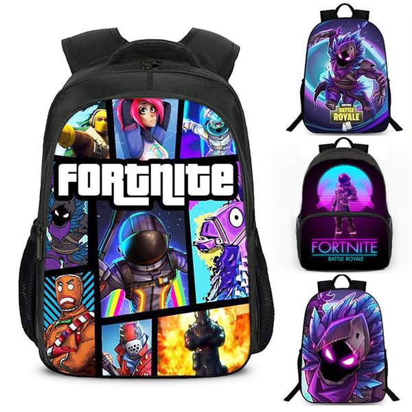 colores y llamativos garantía de alta calidad Tener cuidado de Compre Juego Fortnite Backpack Battle Royale Student Book Bag Mochila  Escolar Rucksack Nuevo A $25.12 Del Vipjx   Dhgate.Com