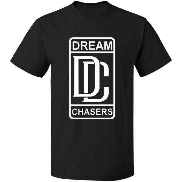 Retno Meek Mill - Dream Chasers Logo Tee S - 3xl 100% Cotton Free Shipping Cotton T-shirt Fashion T Shirt Top Tee