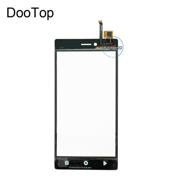 Top Quality NEW For Senseit A109 Touch Glass Lens With Sensor Digitizer Replace Phone Front Panel add Tools 3M Adhesive