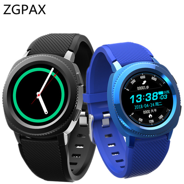 IP68 Waterproof smart watch Z02 Heart Rate monitor Sport watch bluetooth call phone For  gear s3 Xiaomi smartwatch