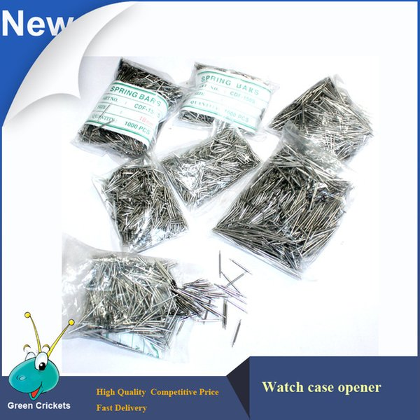 Wholesale 1000pcs/bag 17mm Stainless Steel Watch pins,Competitive price Spring Bar Watch Split Pins
