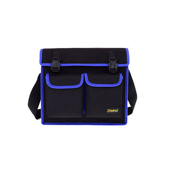 Multitul Waterproof Oxford Cloth Single Shoulder Messenger Bag Hardware Repair Electrician Tool Bag Large Toolkit
